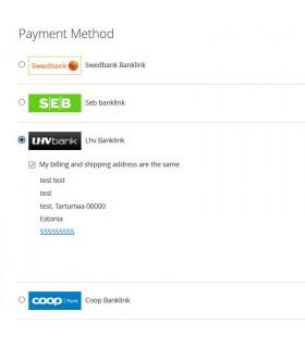 Omniva pakiautomaatide moodul PrestaShop 1.7 (Läti)